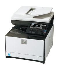 Sharp MX-C250 color desktop MFP image